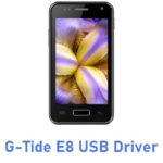 G-Tide E8 USB Driver