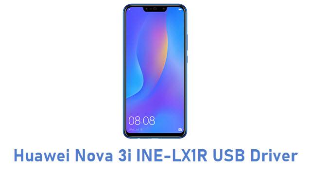Huawei Nova 3i INE-LX1R USB Driver