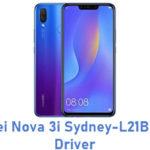 Huawei Nova 3i Sydney-L21BR USB Driver