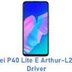 Huawei P40 Lite E Arthur-L29 USB Driver