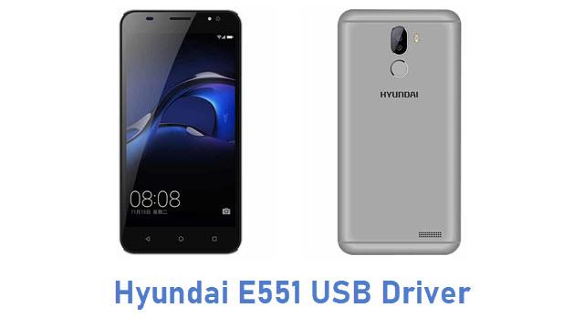 Hyundai E551 USB Driver