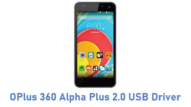 OPlus 360 Alpha Plus 2.0 USB Driver