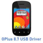OPlus 8.7 USB Driver