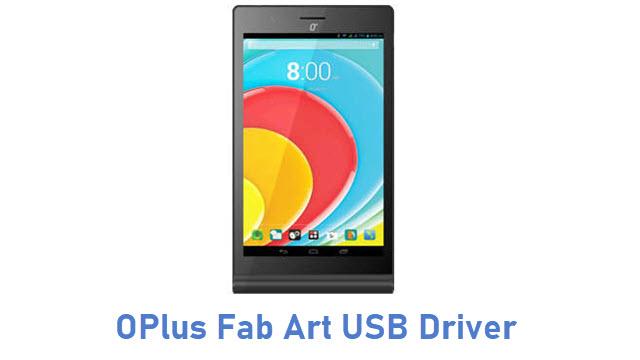 OPlus Fab Art USB Driver