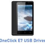 OneClick E7 USB Driver