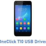 OneClick T10 USB Driver