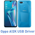 Oppo A12K USB Driver