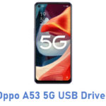 Oppo A53 5G USB Driver