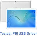 Teclast P10 USB Driver
