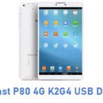 Teclast P80 4G K2G4 USB Driver