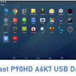 Teclast P90HD A6K7 USB Driver