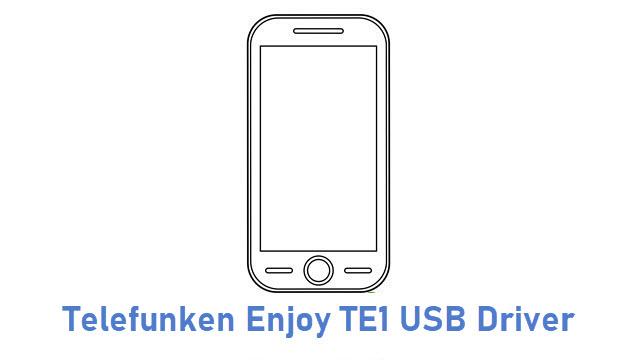 Telefunken Enjoy TE1 USB Driver