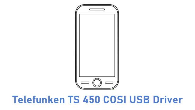 Telefunken TS 450 COSI USB Driver