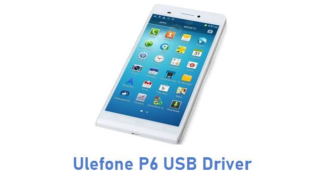 Ulefone P6 USB Driver