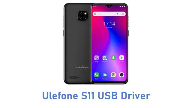Ulefone S11 USB Driver