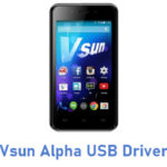 Vsun Alpha USB Driver