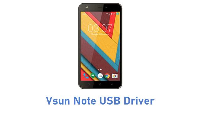 Vsun Note USB Driver