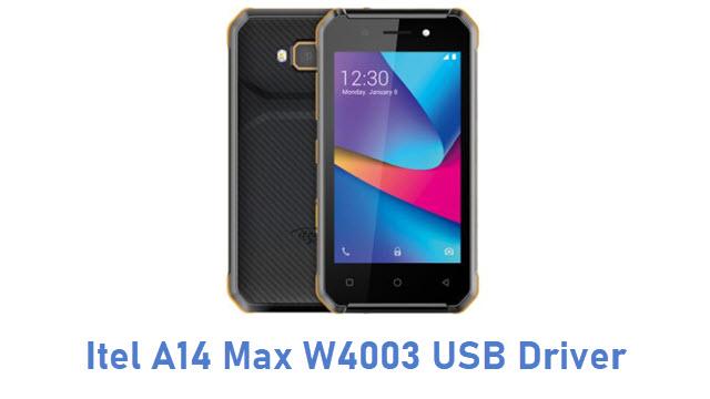 Itel A14 Max W4003 USB Driver