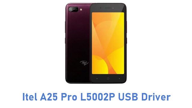 Itel A25 Pro L5002P USB Driver