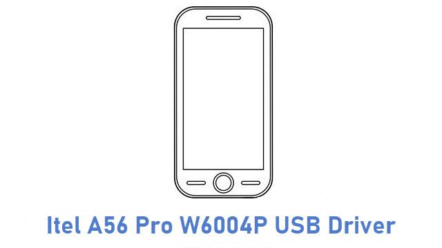 Itel A56 Pro W6004P USB Driver