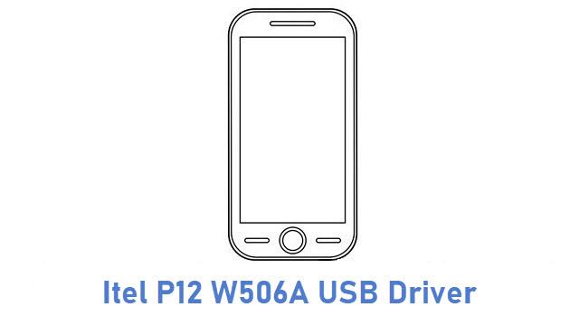 Itel P12 W506A USB Driver