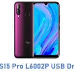 Itel S15 Pro L6002P USB Driver