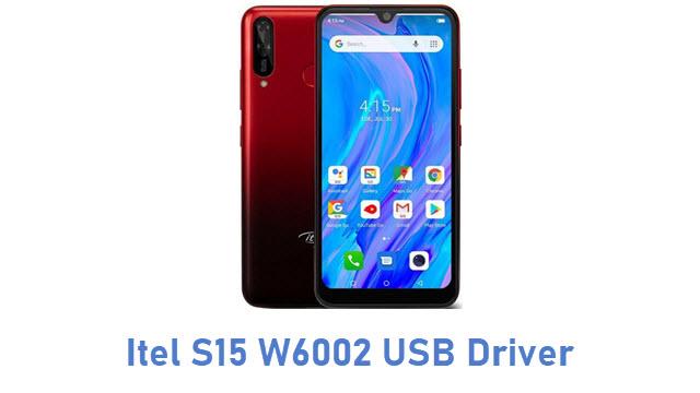 Itel S15 W6002 USB Driver