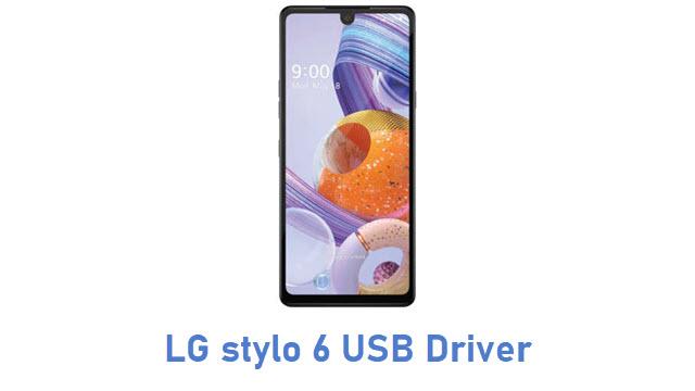 LG stylo 6 USB Driver