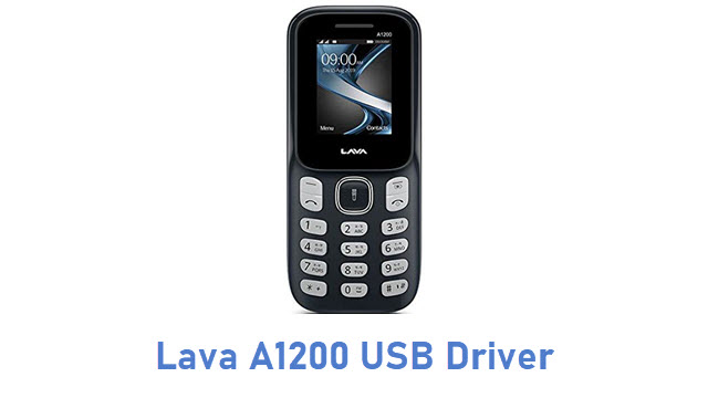 Lava A1200 USB Driver