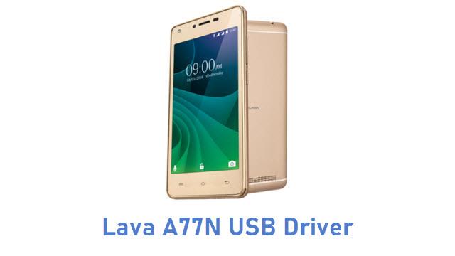 Lava A77N USB Driver