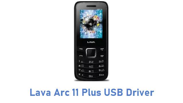 Lava Arc 11 Plus USB Driver