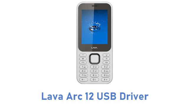 Lava Arc 12 USB Driver