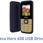 Lava Hero 600 USB Driver