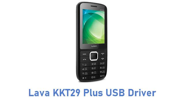 Lava KKT29 Plus USB Driver
