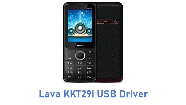 Lava KKT29i USB Driver