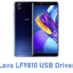 Lava LF9810 USB Driver