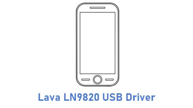 Lava LN9820 USB Driver