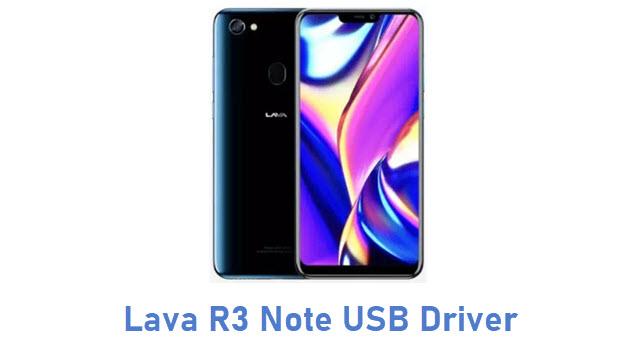 Lava R3 Note USB Driver