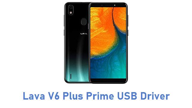 Lava V6 Plus Prime USB Driver