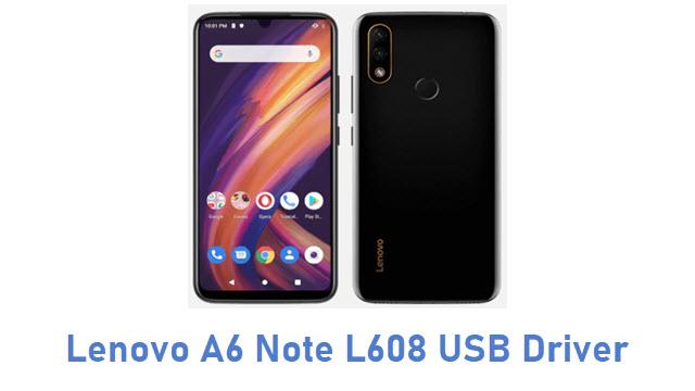 Lenovo A6 Note L608 USB Driver
