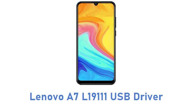 Lenovo A7 L19111 USB Driver