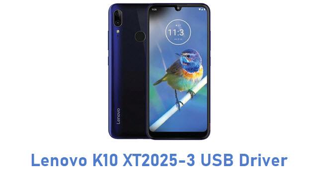 Lenovo K10 XT2025-3 USB Driver