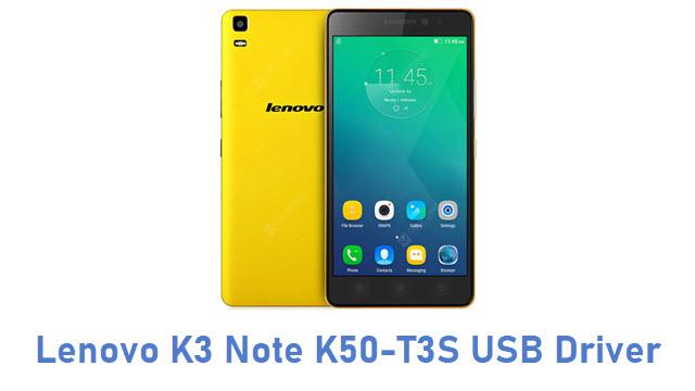 Lenovo K3 Note K50-T3S USB Driver