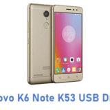 Lenovo K6 Note K53 USB Driver