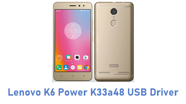 Lenovo K6 Power K33a48 USB Driver