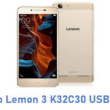 Lenovo Lemon 3 K32C30 USB Driver