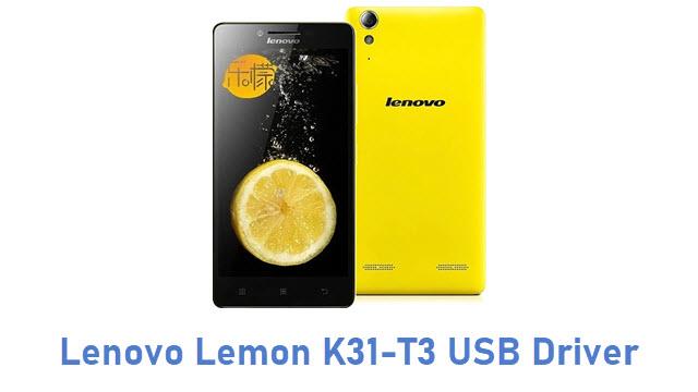 Lenovo Lemon K31-T3 USB Driver