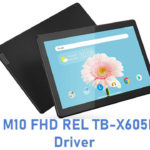 Lenovo M10 FHD REL TB-X605LC USB Driver
