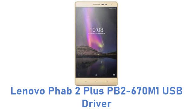 Lenovo Phab 2 Plus PB2-670M1 USB Driver