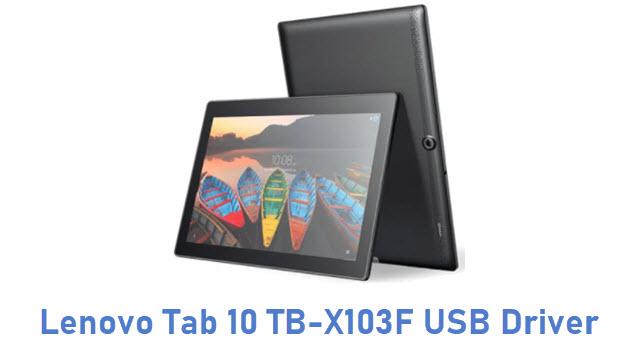 Lenovo Tab 10 TB-X103F USB Driver